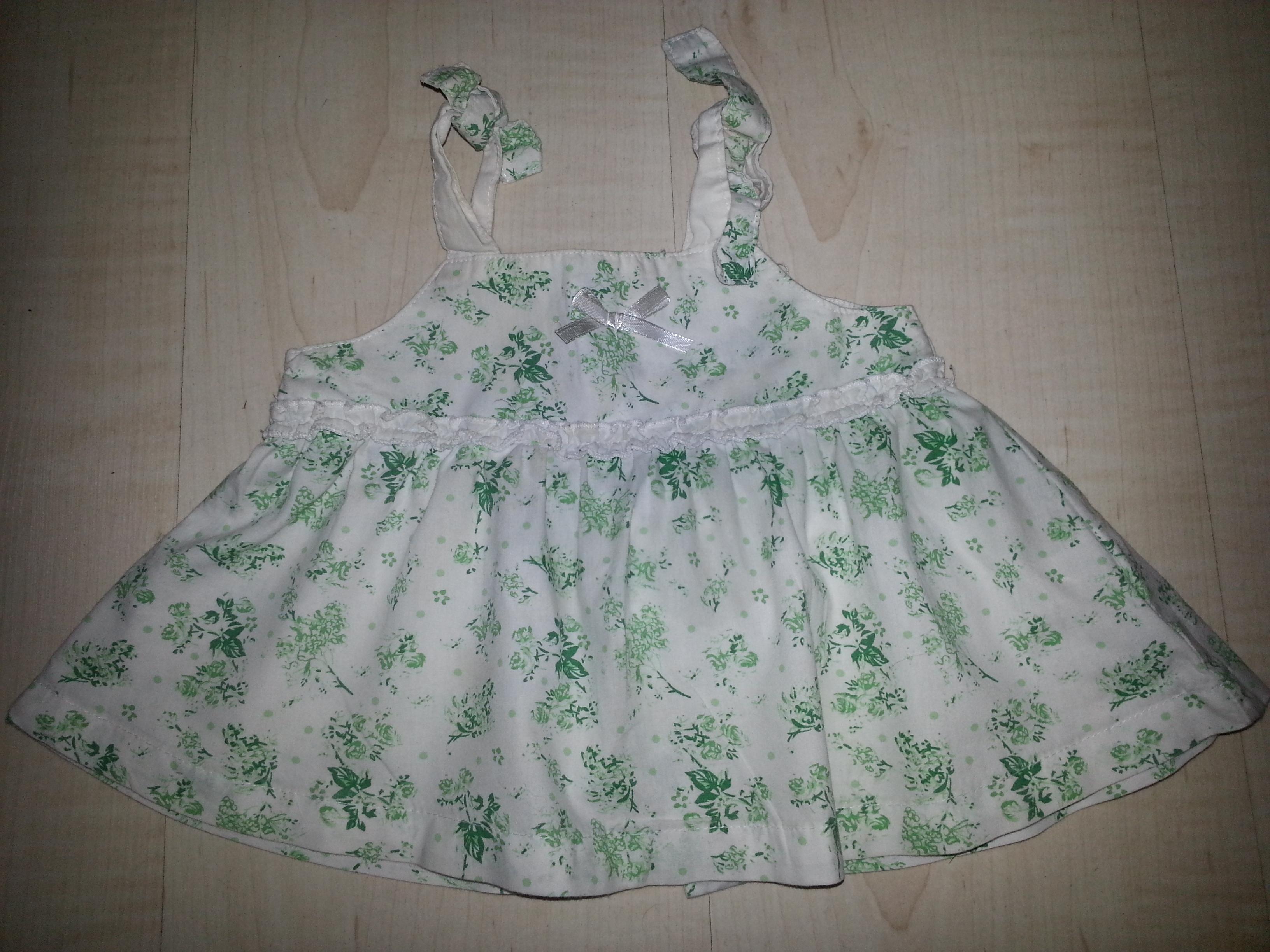 Ситцевое платье детское